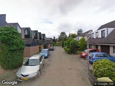 Ambulance naar Terborchdreef in Oud-Beijerland