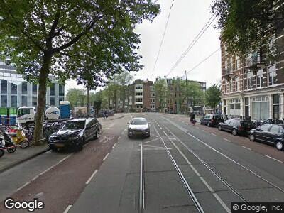 Brandweer naar Roetersstraat in Amsterdam