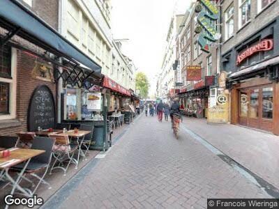 Ambulance naar Korte Leidsedwarsstraat in Amsterdam