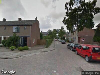Ambulance naar Frans Halsstraat in Zoetermeer