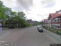 Brandweer naar Generaal van der Plaatstraat in Breda