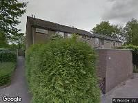 112 melding Brandweer naar Oudenboschstraat in Arnhem