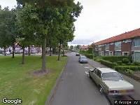 Brandweer naar Moerbekestraat in Breda