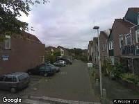 112 melding Ambulance naar Billie Holidaystraat in 's-Gravenhage