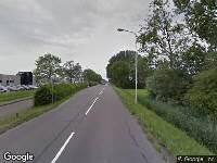 Brandweer naar Harlingerweg in Franeker