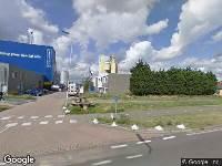 112 melding Brandweer naar Welplaatweg in Botlek Rotterdam
