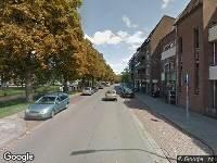 Brandweer naar Nijverheidssingel in Breda