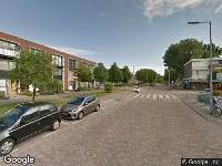 112 melding Ambulance naar Troubadourlaan in Hoogvliet Rotterdam