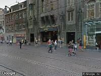 Ambulance naar Reguliersbreestraat in Amsterdam