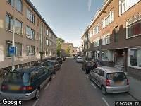 112 melding Brandweer naar Deensestraat in Rotterdam