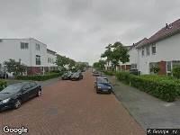 112 melding Brandweer naar Cypruslaan in Rotterdam