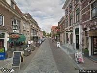 Politie naar Klinkerstraat in Grave