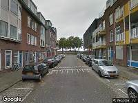 112 melding Ambulance naar Puttershoekstraat in Rotterdam