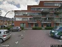 112 melding Brandweer naar Johan de Wittstraat in Vlaardingen
