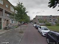 112 melding Ambulance naar Schrobbelaarstraat in Delft