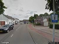 112 melding Brandweer naar Dokter van Kleefstraat in Maastricht