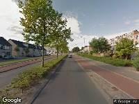 Politie naar Kouwenaardseweg in Hoogvliet Rotterdam