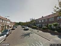 112 melding Politie naar Wethouder D. Ouwehandstraat in Katwijk