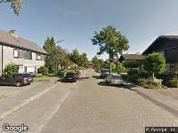 112 melding Besteld ambulance vervoer naar Herikaard in Teteringen