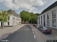 Brandweer naar Gansstraat in Utrecht