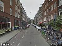 Ambulance naar Gerard Doustraat in Amsterdam