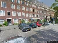 Ambulance naar Jekerstraat in Amsterdam