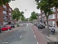 Ambulance naar Waalstraat in Amsterdam