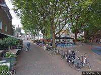 Ambulance naar Doelenplein in Delft