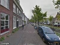 Politie naar Verwersdijk in Delft