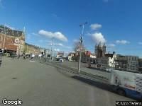 112 melding Brandweer naar Stationsplein in Amsterdam