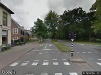 Traumahelikopter naar Kleine Houtweg in Haarlem