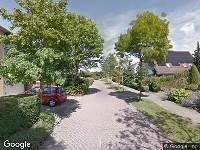 Brandweer naar Landsheerlaan in Zwolle