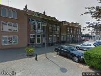 112 melding Ambulance naar Singel in Schiedam
