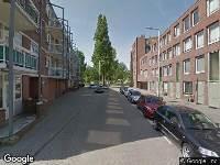 Ambulance naar Zinkerstraat in Rotterdam