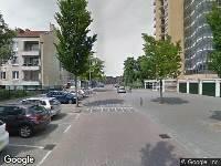 112 melding Brandweer naar Robert Baeldestraat in Rotterdam