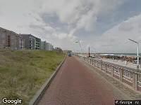 112 melding Ambulance naar Strandweg in 's-Gravenhage