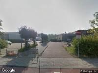 Ambulance naar Vondellaan in Leiden