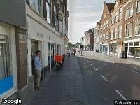 Ambulance naar Steenstraat in Leiden