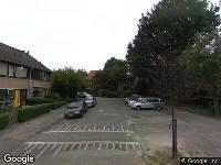 112 melding Ambulance naar Ab Meniststraat in Hoogvliet Rotterdam