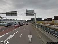 Ambulance naar Vertrekpassage in Schiphol