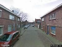 Ambulance naar Merelstraat in Tilburg