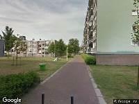 112 melding Ambulance naar Albert van Raalteplein in Schiedam
