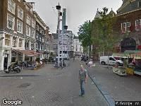 Ambulance naar Nieuwmarkt in Amsterdam