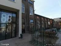 112 melding Politie naar Burgemeester Brokxlaan in Tilburg