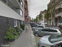 Brandweer naar Hemonystraat in Amsterdam
