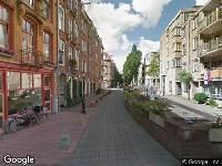 Ambulance naar Vrolikstraat in Amsterdam