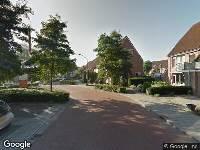 Ambulance naar Aletta Jacobspad in Oosterhout