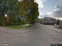 112 melding Brandweer naar Burghsluissingel in Rotterdam