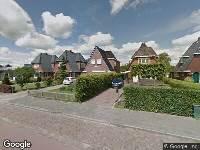 Brandweer naar Groningerstraat in Surhuisterveen