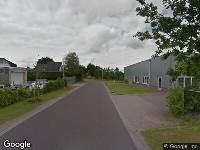 Brandweer naar Dalweg in Surhuisterveen